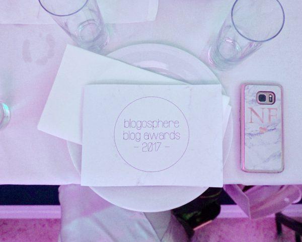 Blogosphere Blog Awards 2017