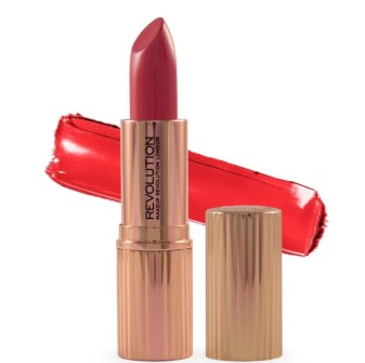 makeup revolution red lipstick
