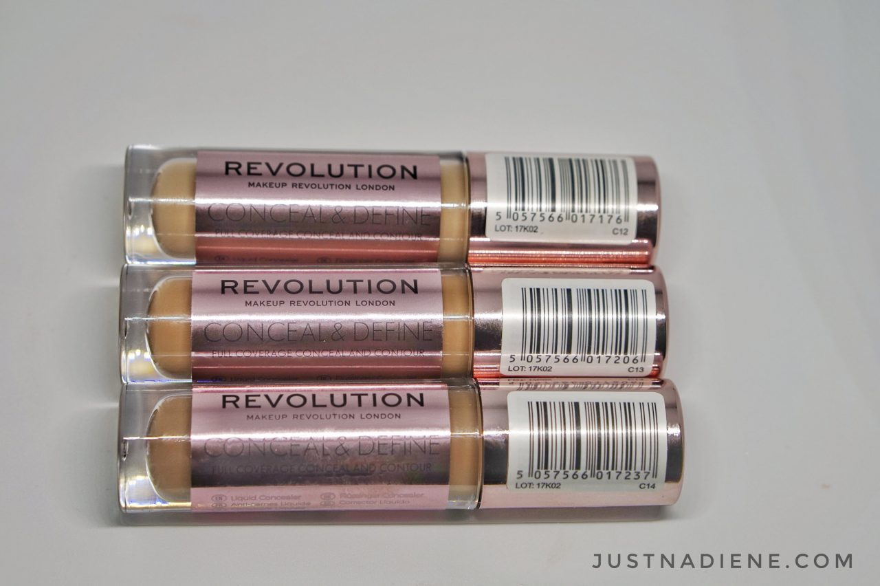 Makeup Revolution game changer concealer