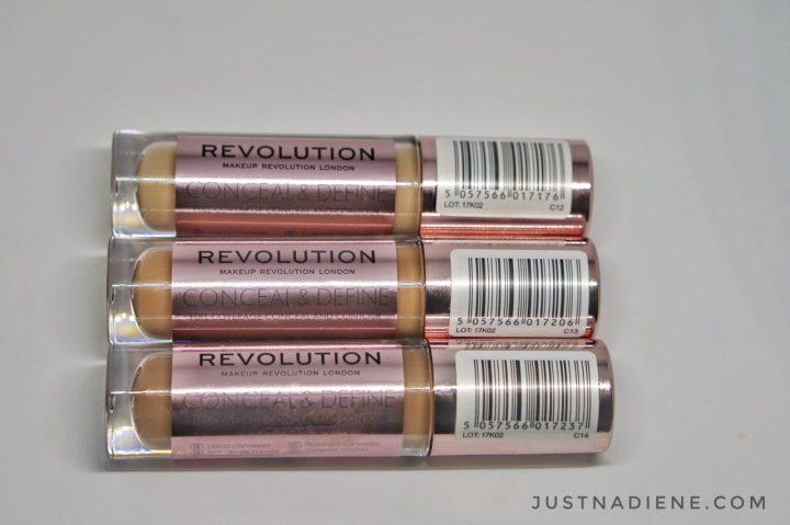 Makeup Revolution game changer concealer