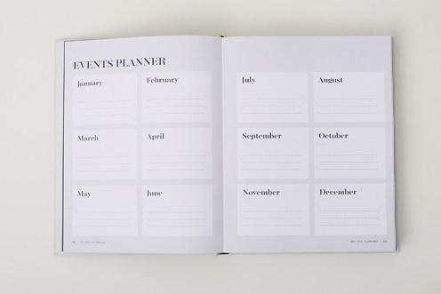 events page my pro planner
