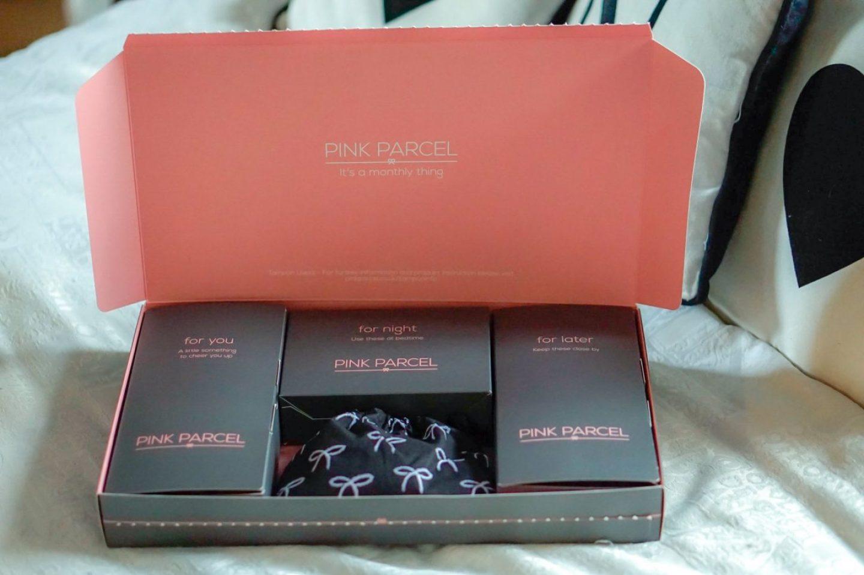 January pink parcel box