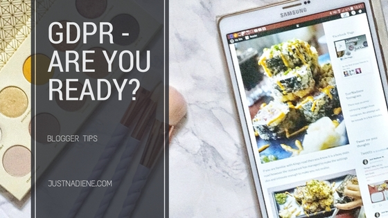 GDPR update – Are you ready? ( Blogger Tips)