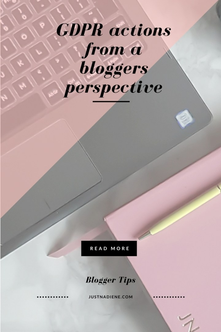 GDPR tips from a bloggers perspective (Bloggers tips)