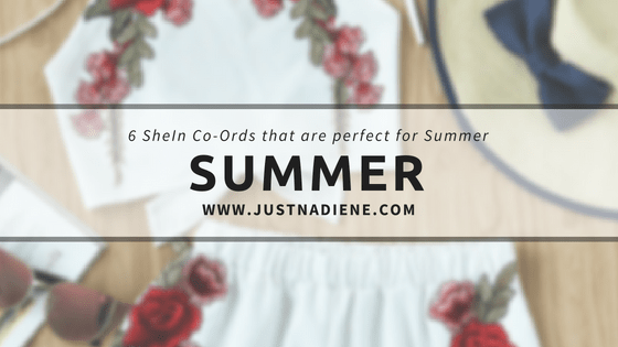 6 SheIn Co-Ords that are perfect for the Summer [under £16]