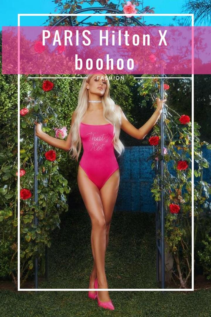 Paris Hilton x boohoo clothing collaboration top picks