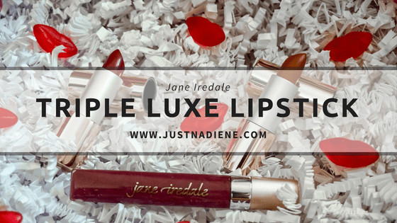 #NationalLipstickDay with Jane Iredale Triple Luxe Lipstick range