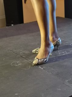 snake skin vionic josie shoe