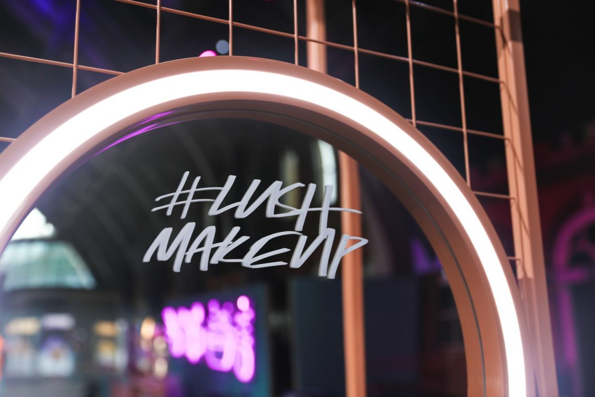 Lush Makeup Now In Store