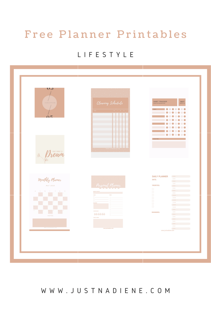 This is a photo of Free Personal Planner Printables regarding menu planner