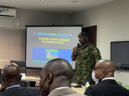 Reason we initially said our personnel were not at the Lekki tollgate - Nigerian Army (video