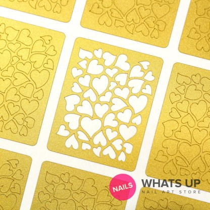 Heart Stickers & Stencils