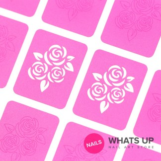 Roses Stencils