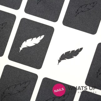 Feather Stickers & Stencils