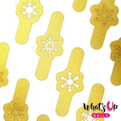 Merry Snowflakes Gold