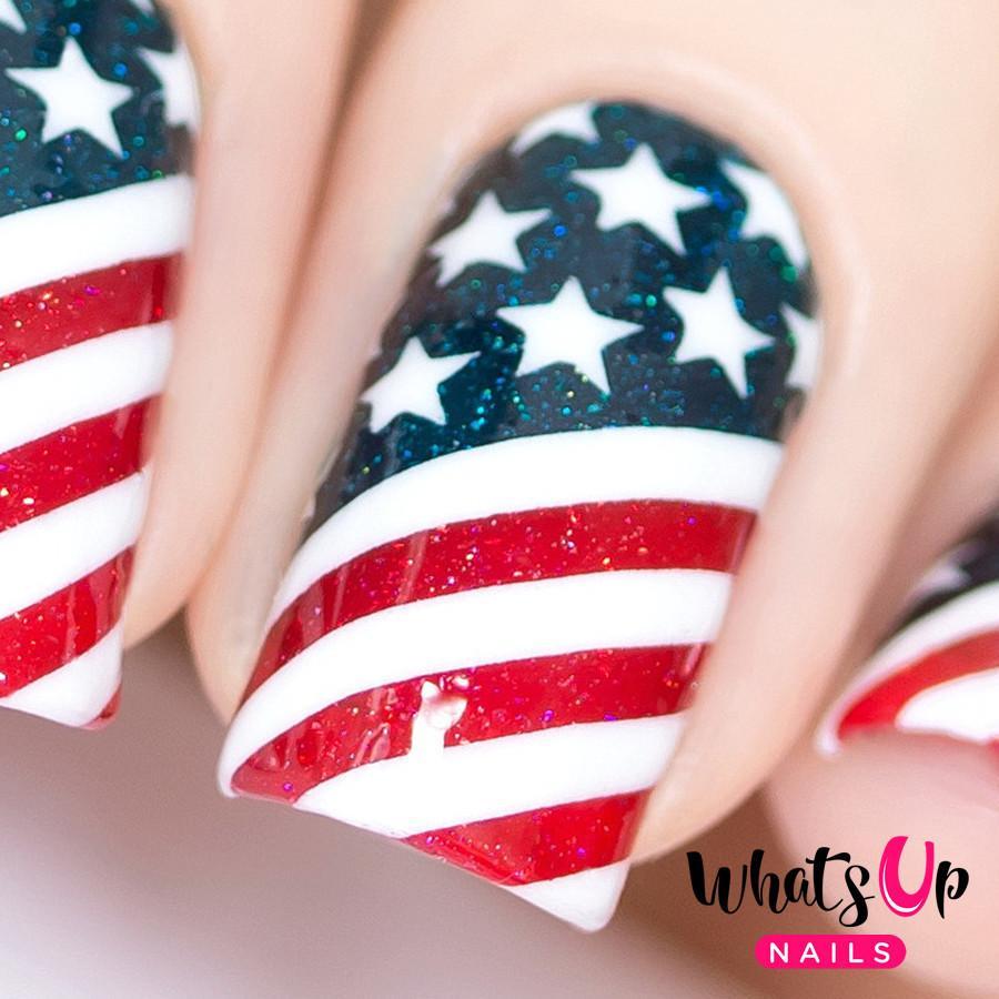 American Flag negle vinyler