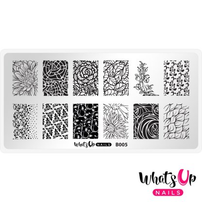Nature's Beauty Garden stamping