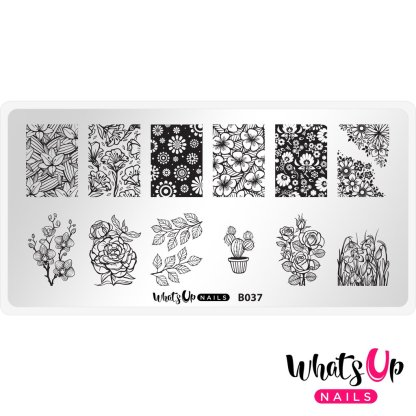 Growing Beauty stamping