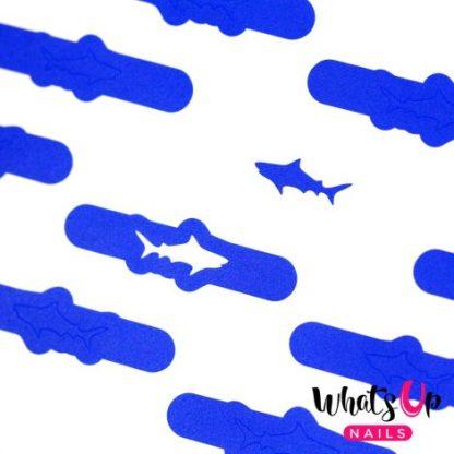 Shark Stencils - neglevinyl med hajer