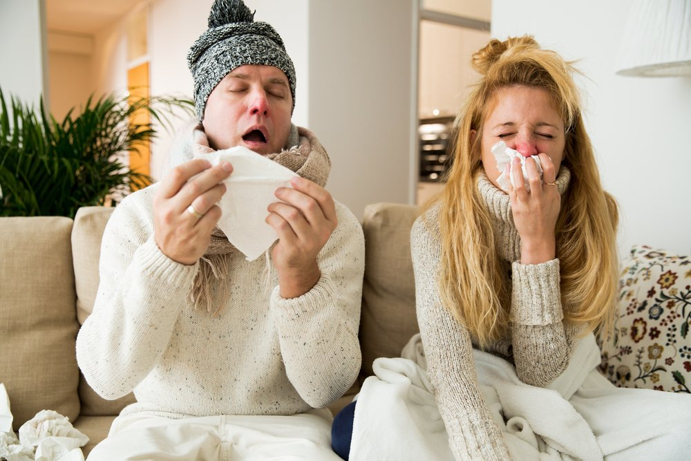 four natural cold treatments