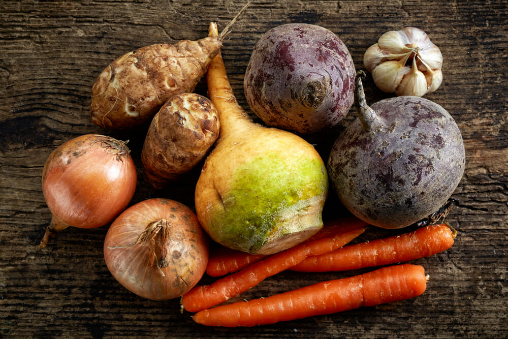 Healthy Root Vegetables
