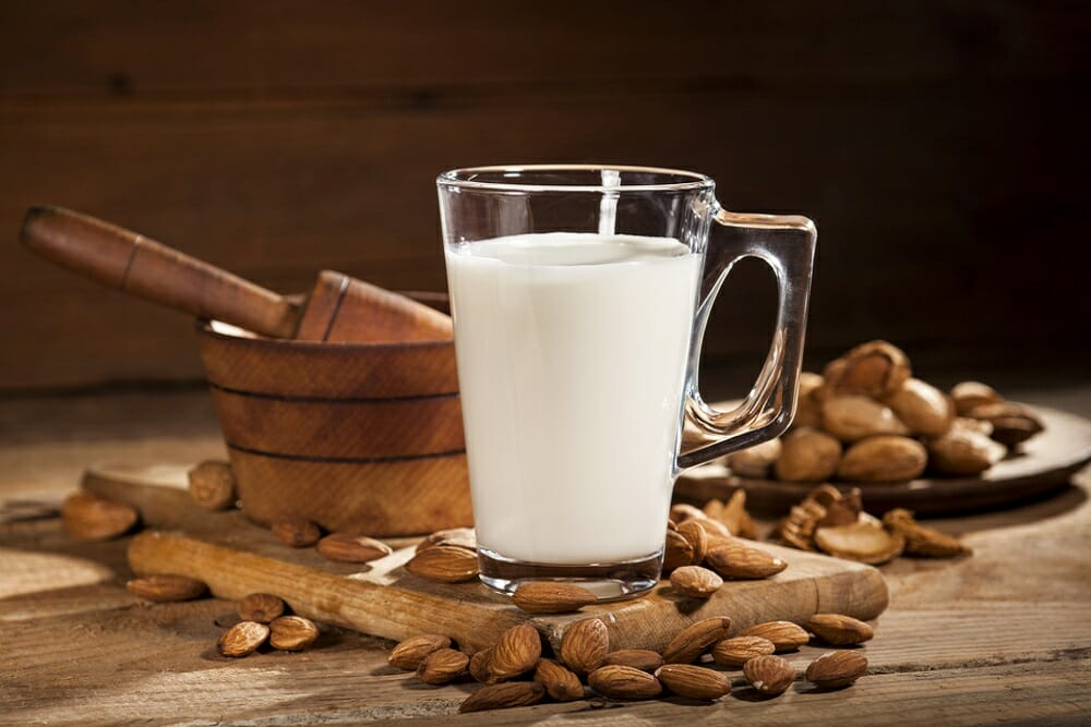 Add almond milk to your diet