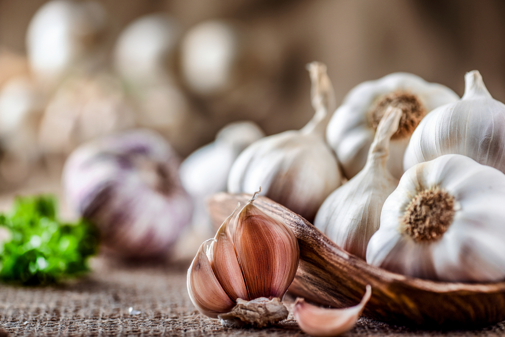Five Benefits Of Raw Garlic
