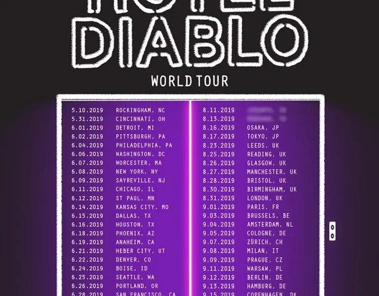 Machine Gun Kelly Announces Hotel Diablo Album And Accompanying World Tour JustNje