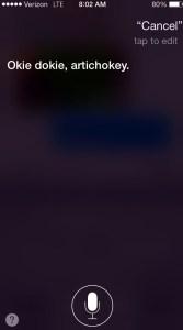 Siri Smart Talking