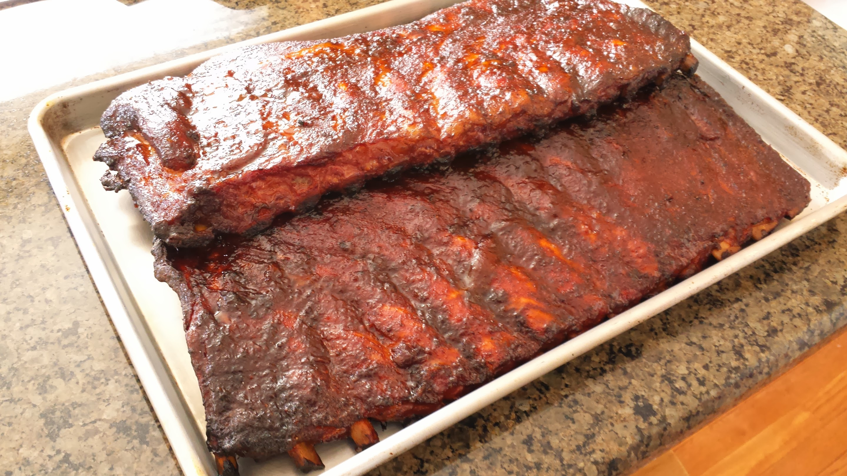 Texas BBQ Pork Spare Ribs