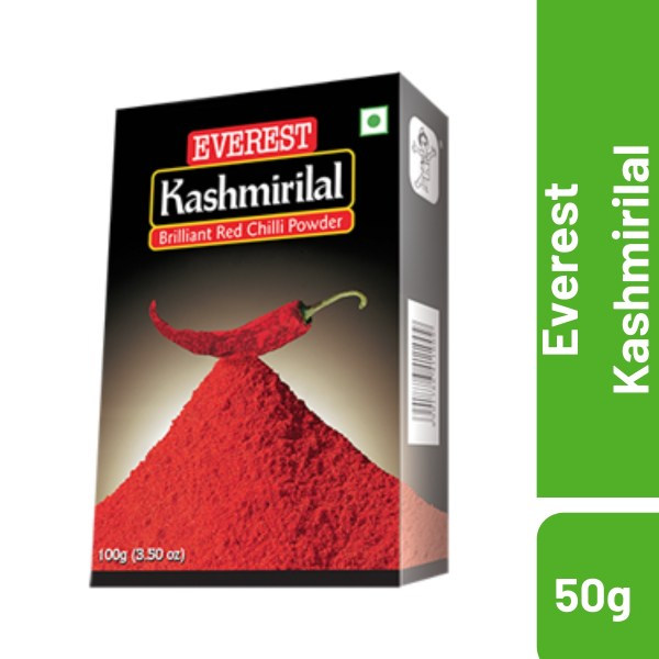 Everest Kashmirilal Brilliant Red Chilli Powder-50g