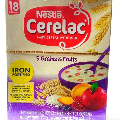 Nestle Cerelac Baby Cereal 5 Grains & Fruits 300gm