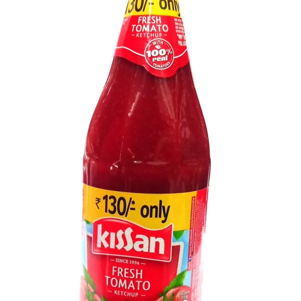 Kissan Fresh Tomato Ketchup Bottle, 1kg