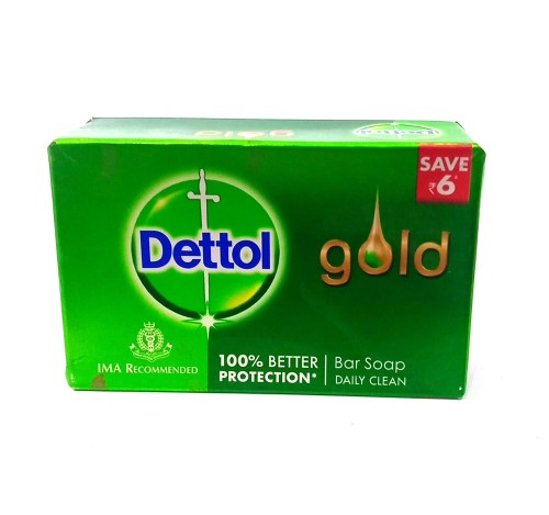 Dettol Gold Anti-Bacterial Bar Soap Daily Clean