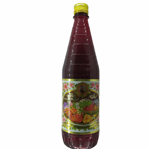 Rooh Afza Hamdard, Pack Size: 750 Ml, Pack Type: Plastic