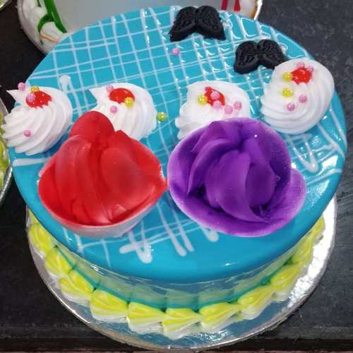 Colourful Abstract Cakes
