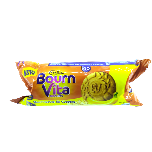 Cadbury Bournvita Banana Oats Biscuits 46.5g