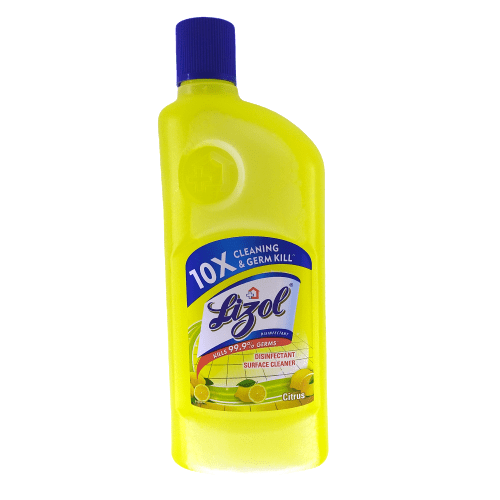 Lizol Disinfectant Surface Cleaner Citrus - 500ml