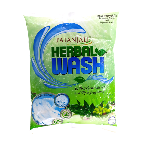 Patanjali Herbal Wash Detergent Powder, 1kg