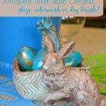 Antiquing Ceramics Glazing Colorwash Or Drybrush