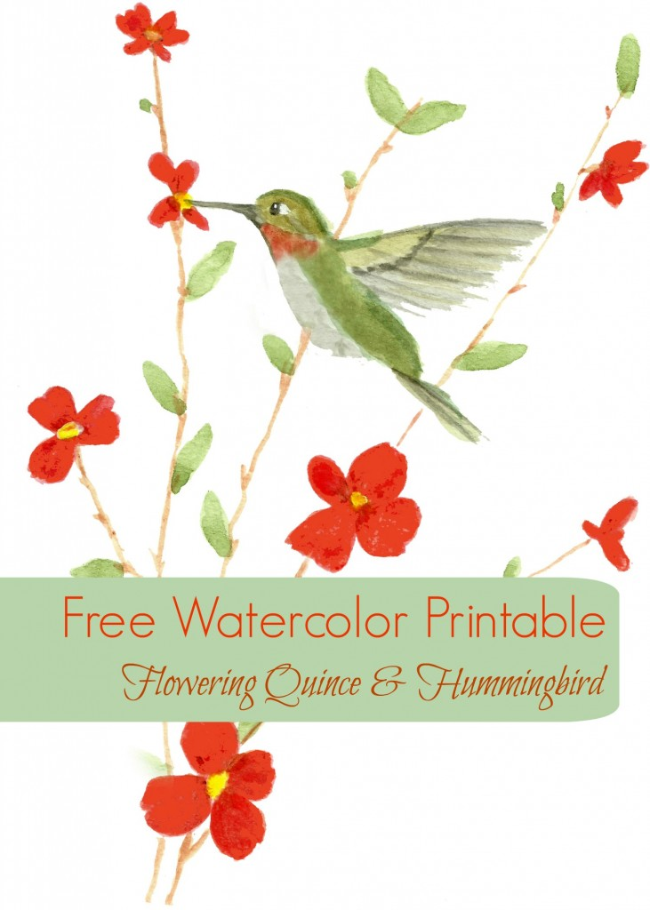 watercolor printable