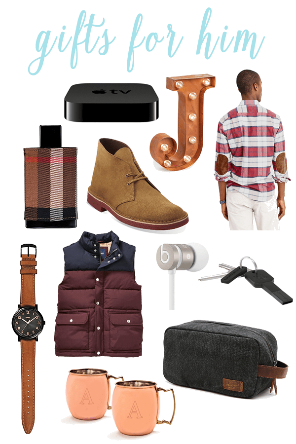 Christmas Holiday Gift Guide for Men