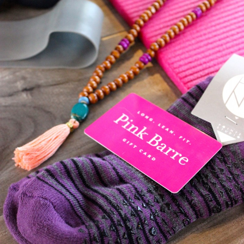 Pink Barre Giveaway | Just Peachy Blog