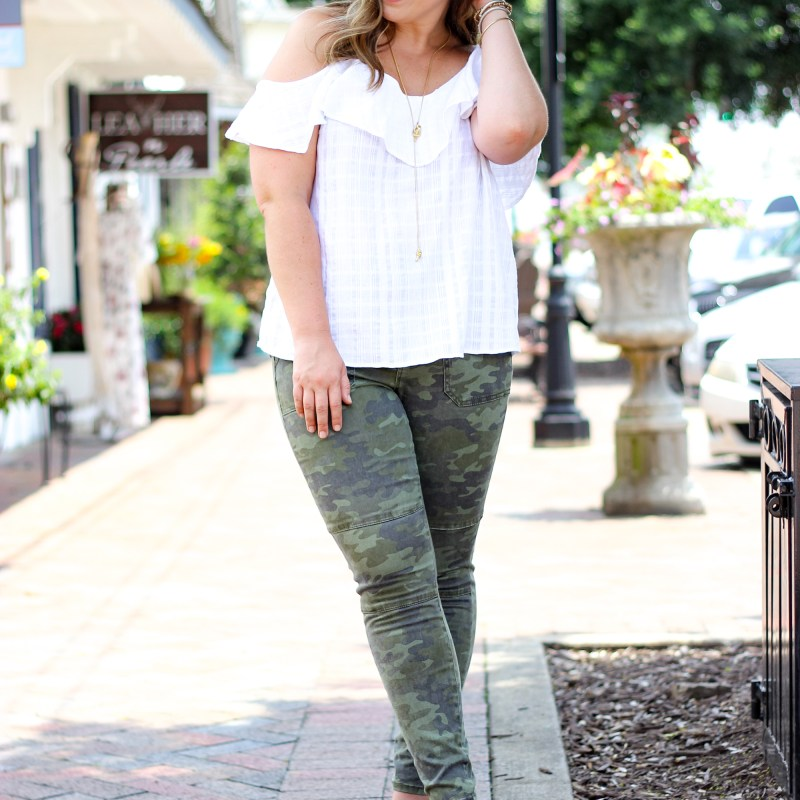 How to Wear Camo with Style | Just Peachy Blog