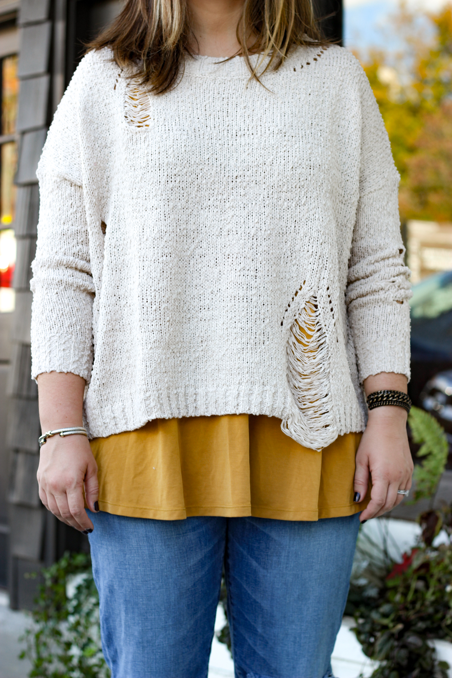 Tips for Layering Sweaters | Just Peachy Blog