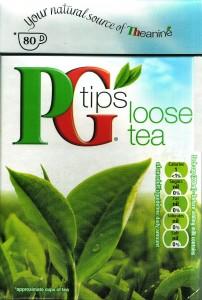 PG Tips Loose Tea in an 8.8 Ounce Box