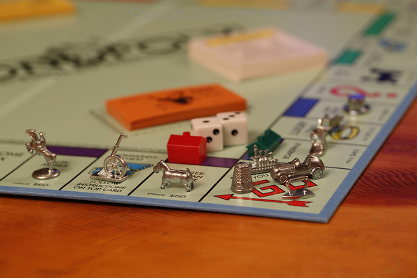 Being that they just came out with a newer version of Monopoly, here is a tribute to the version that had Boardwalk!  #projectlife365  #game