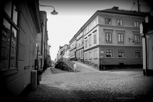 Brännkyrkagatan (burn church street in Stockholm)