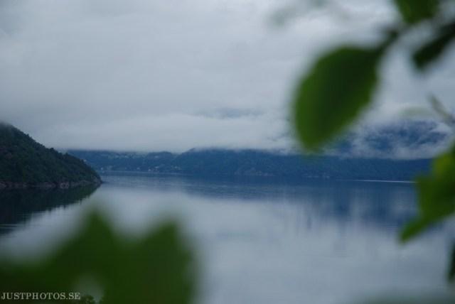 Norwegian fjords Skåneviksfjorden