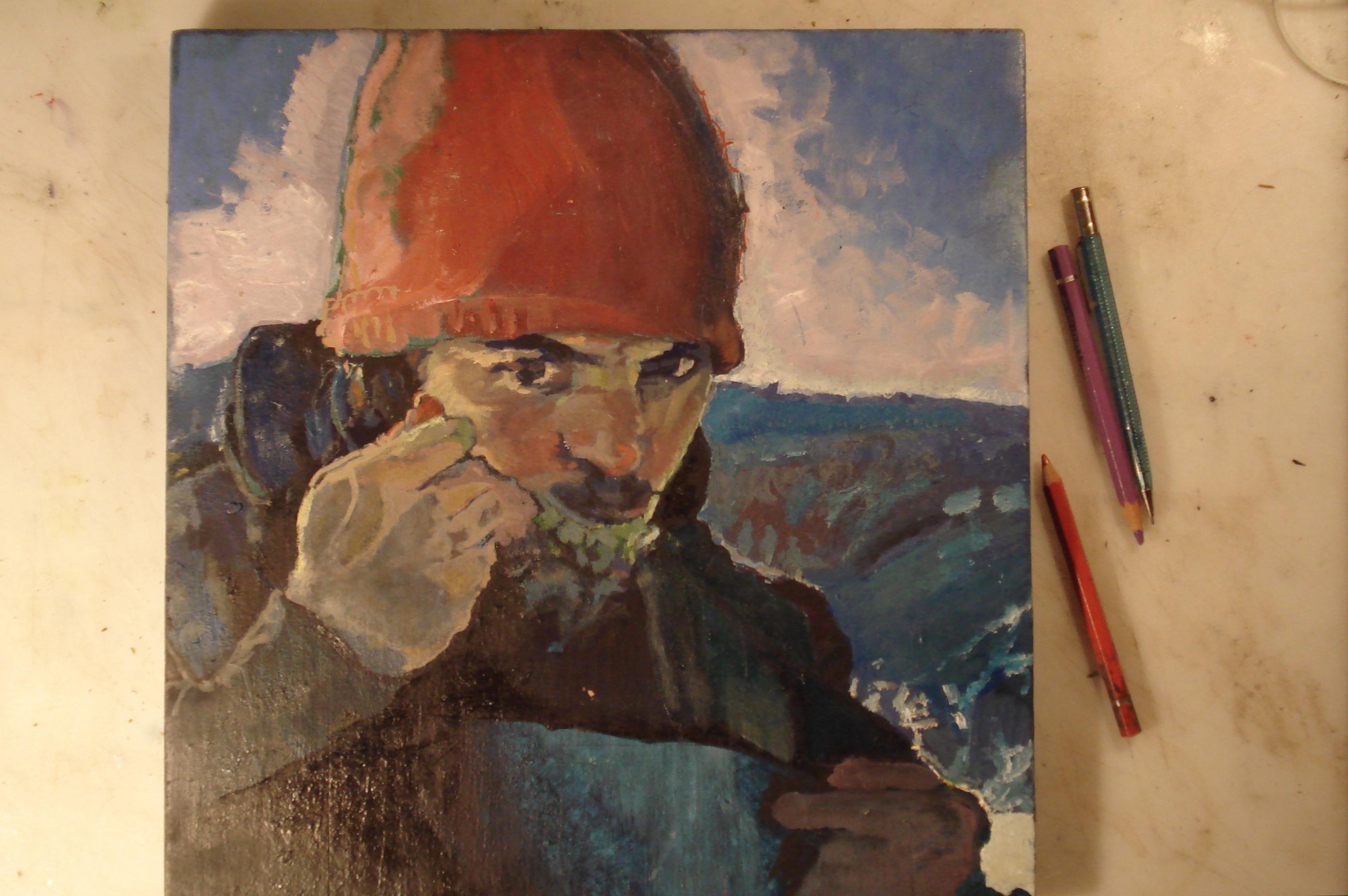 SLP. portrait in progress